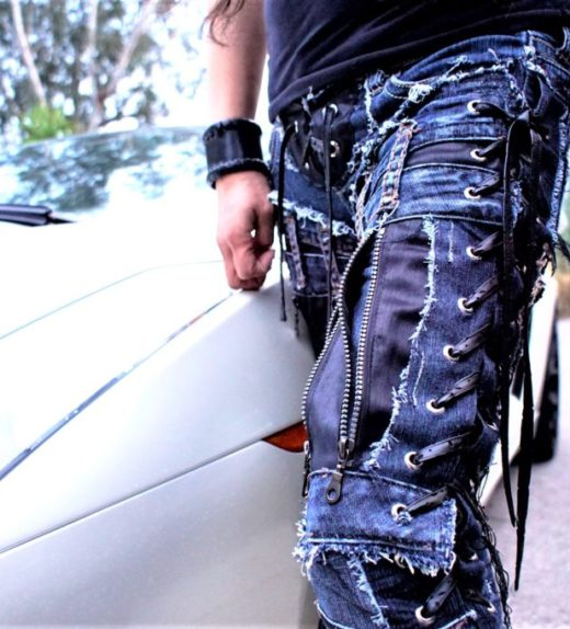Hollywood Leggings - Custom Pants - Stage Clothes - DSC01775