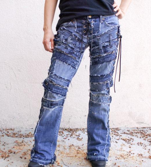 Hollywood Leggings - Custom Stage Clothes - custom Jeans - custom pants-00366