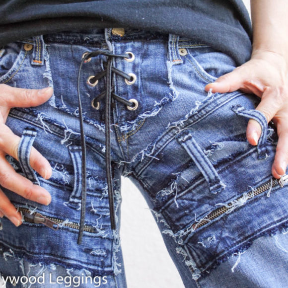 Hollywood Leggings - Custom Stage Clothes - custom Jeans - custom pants-00382