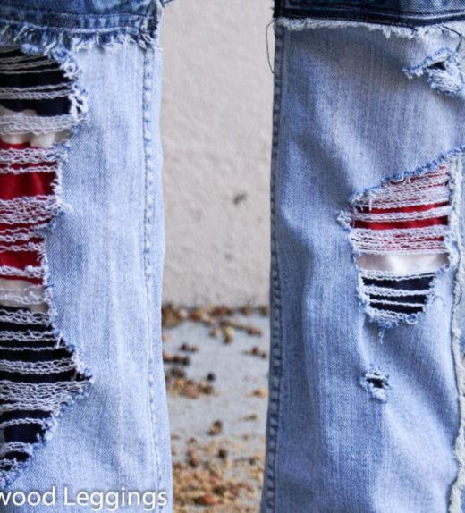Hollywood Leggings - Custom Stage Clothes - custom Jeans - custom pants-00390