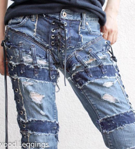 Hollywood Leggings - Custom Stage Clothes - custom Jeans - custom pants-00417