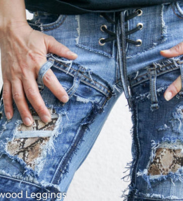 Hollywood Leggings - Custom Stage Clothes - custom Jeans - custom pants-00470