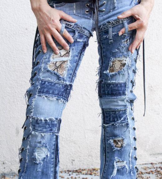 Hollywood Leggings - Custom Stage Clothes - custom Jeans - custom pants-00471