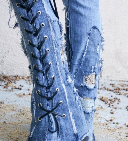 Hollywood Leggings - Custom Stage Clothes - custom Jeans - custom pants-00485