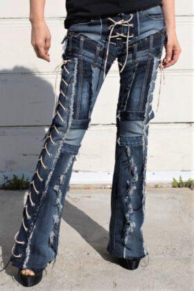 DSC04420.jpg #2 Hollywood Leggings Custom Pants-Clothes BLUE FIRE