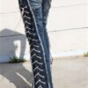 DSC04426.jpg #2 Hollywood Leggings Custom Pants-Clothes BLUE FIRE