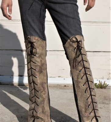 DSC04441.jpg #2 ollywood Leggings - Custom Pants - Stage Clothes Gold Snake