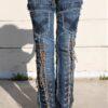 DSC04461.jpg #2ollywood Leggings - Custom Pants - Stage Clothes  BLUE SKY