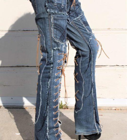 DSC04468.jpg #2ollywood Leggings - Custom Pants - Stage Clothes  BLUE SKY