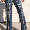DSC04478.jpg #2 Hollywood Leggings Custom Pants-Clothes  Bondage Blue