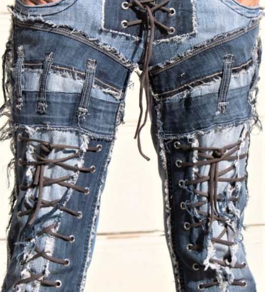 DSC04486.jpg #2 Hollywood Leggings Custom Pants-Clothes Bondage Blue