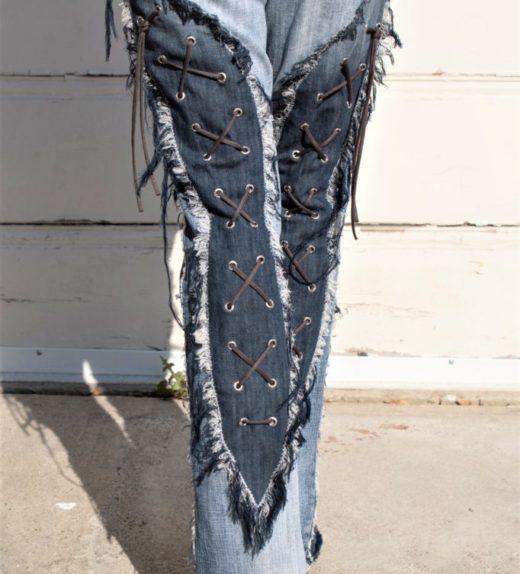 DSC04491.jpg #2 Hollywood Leggings Custom Pants-Clothes Bondage Blue